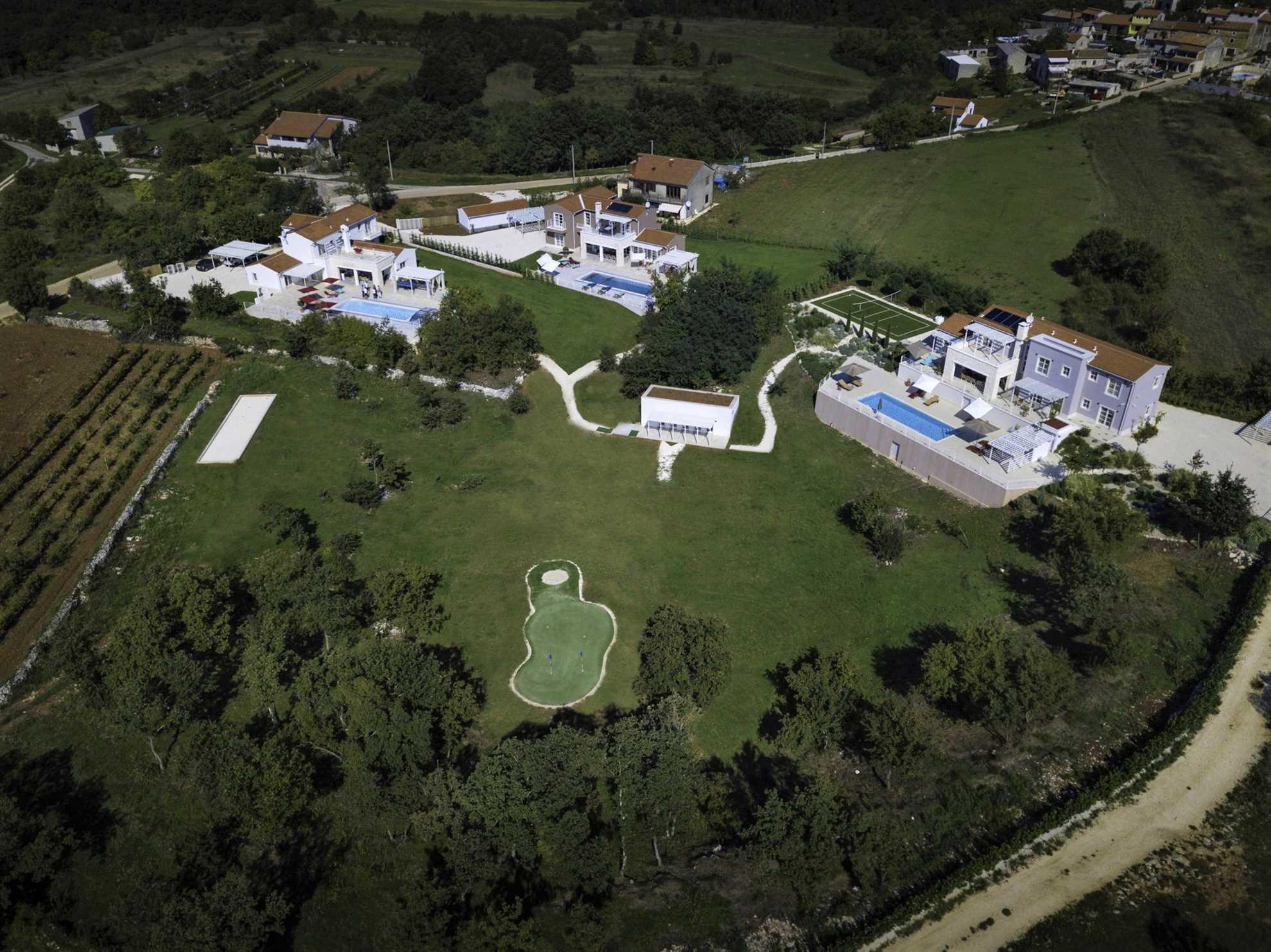 Energy Villas Complex in Rezanci near Pula
