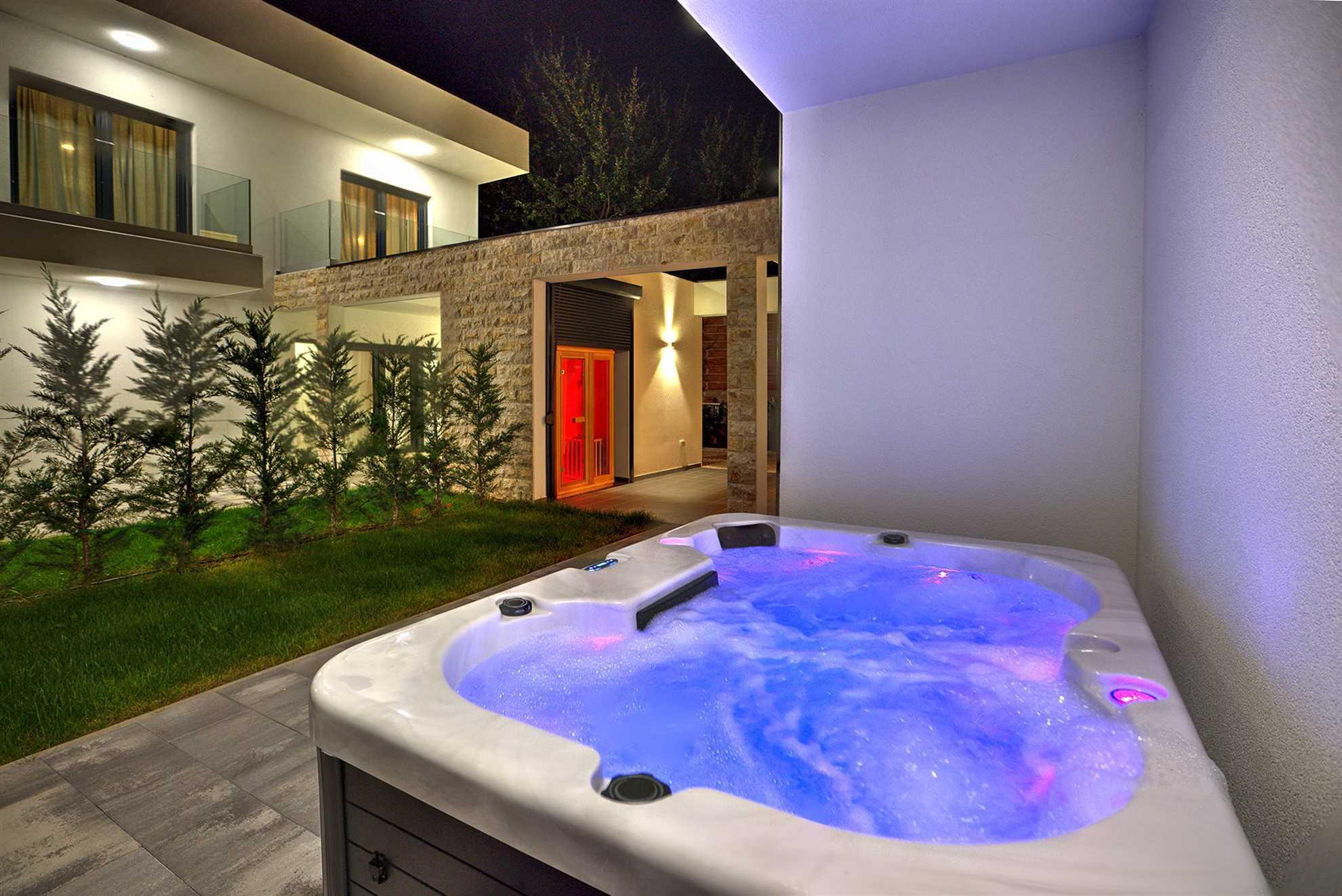 Jacuzzi Sauna Villas Meraviglia Lifestyle Porec