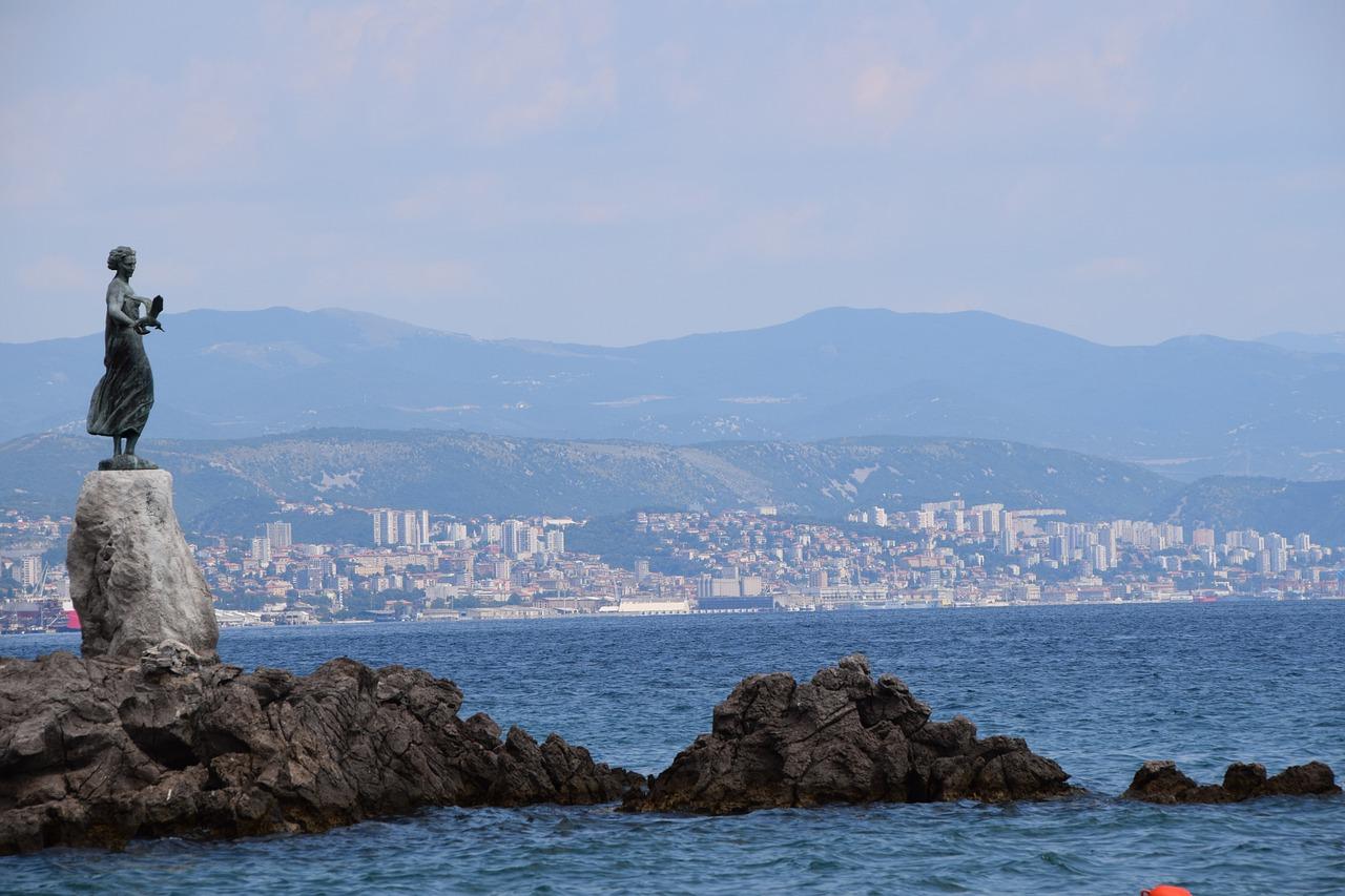 Rijeka from Opatija