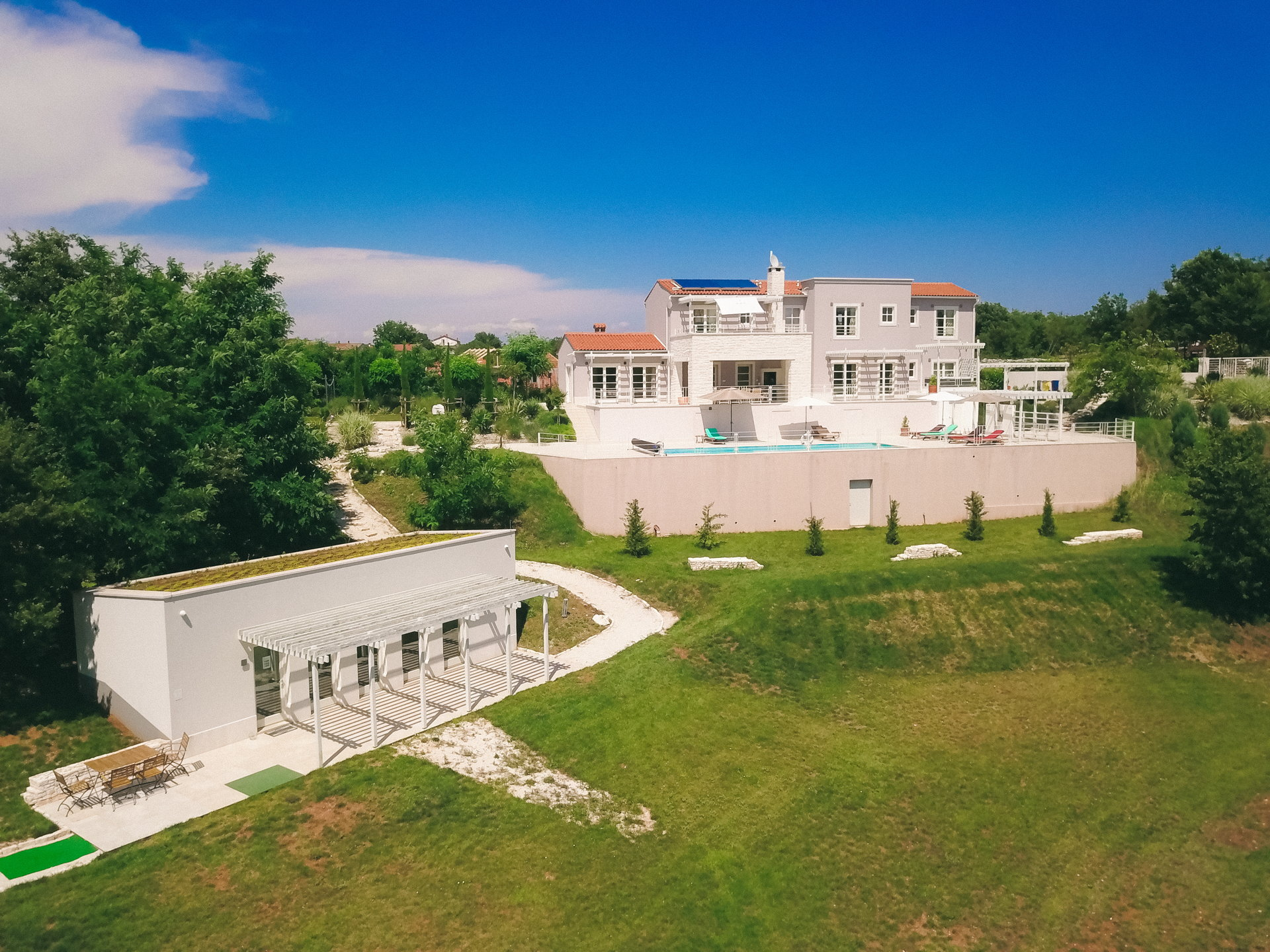 Villa Energy Platinum with Pool and the spa