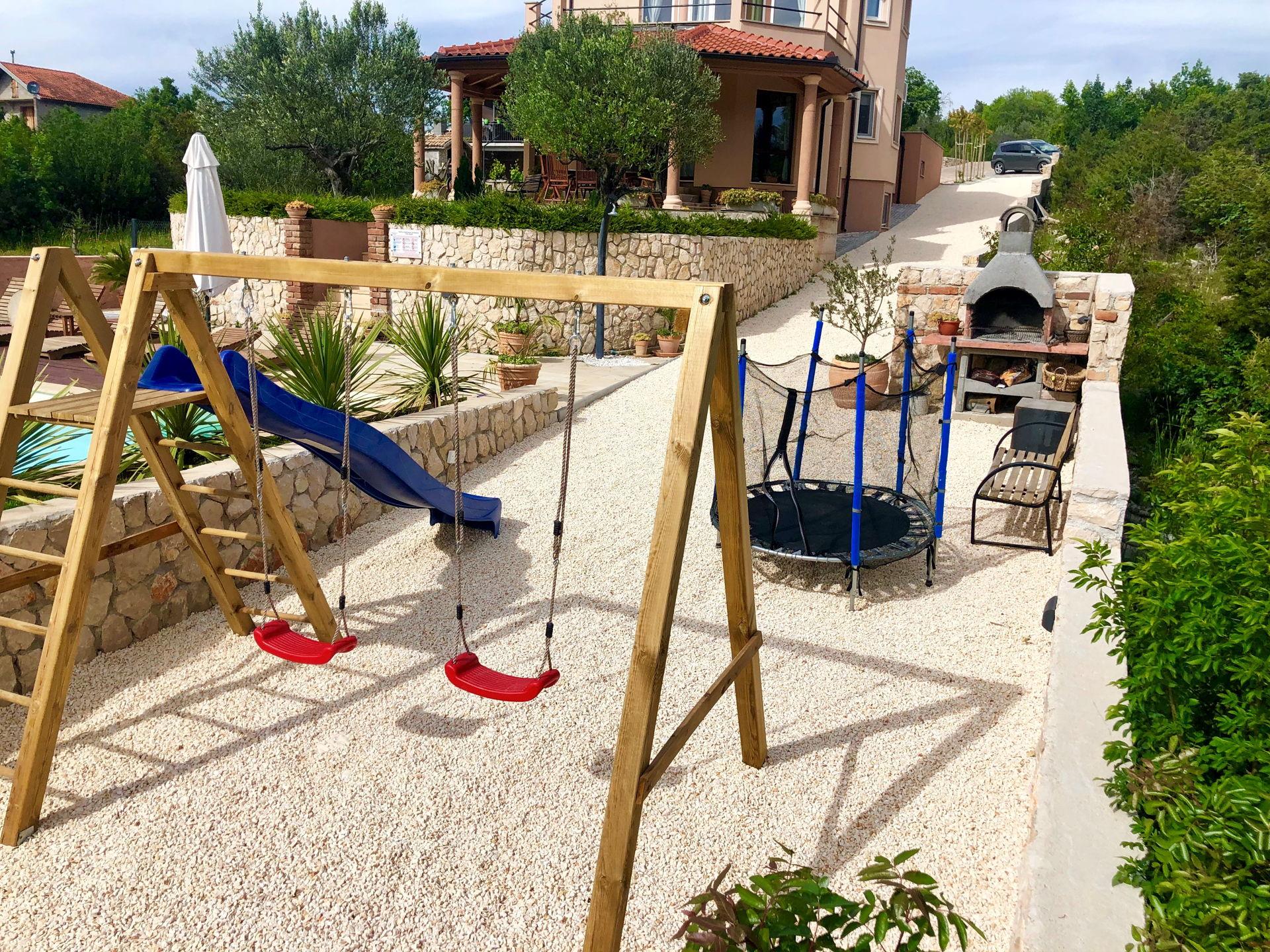 Playground for children, Luxury Villa Antoneta
