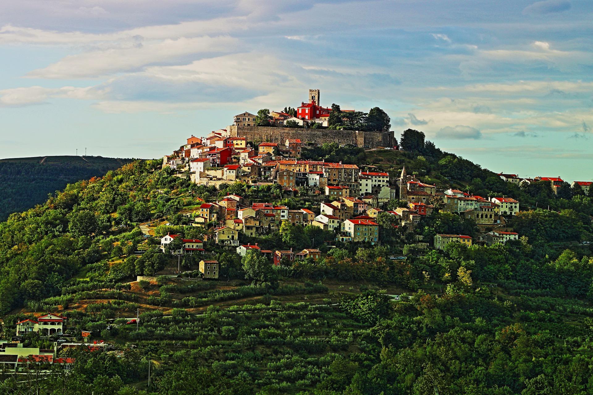 Motovun in Central Istria