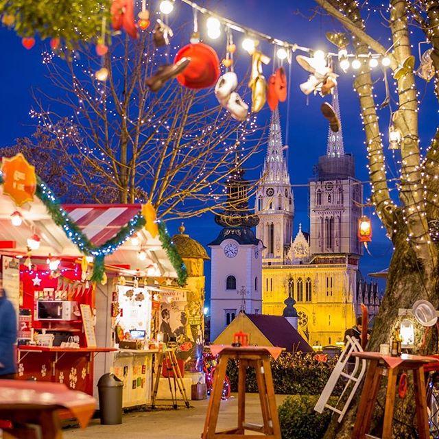 Christmas fair in Zagreb