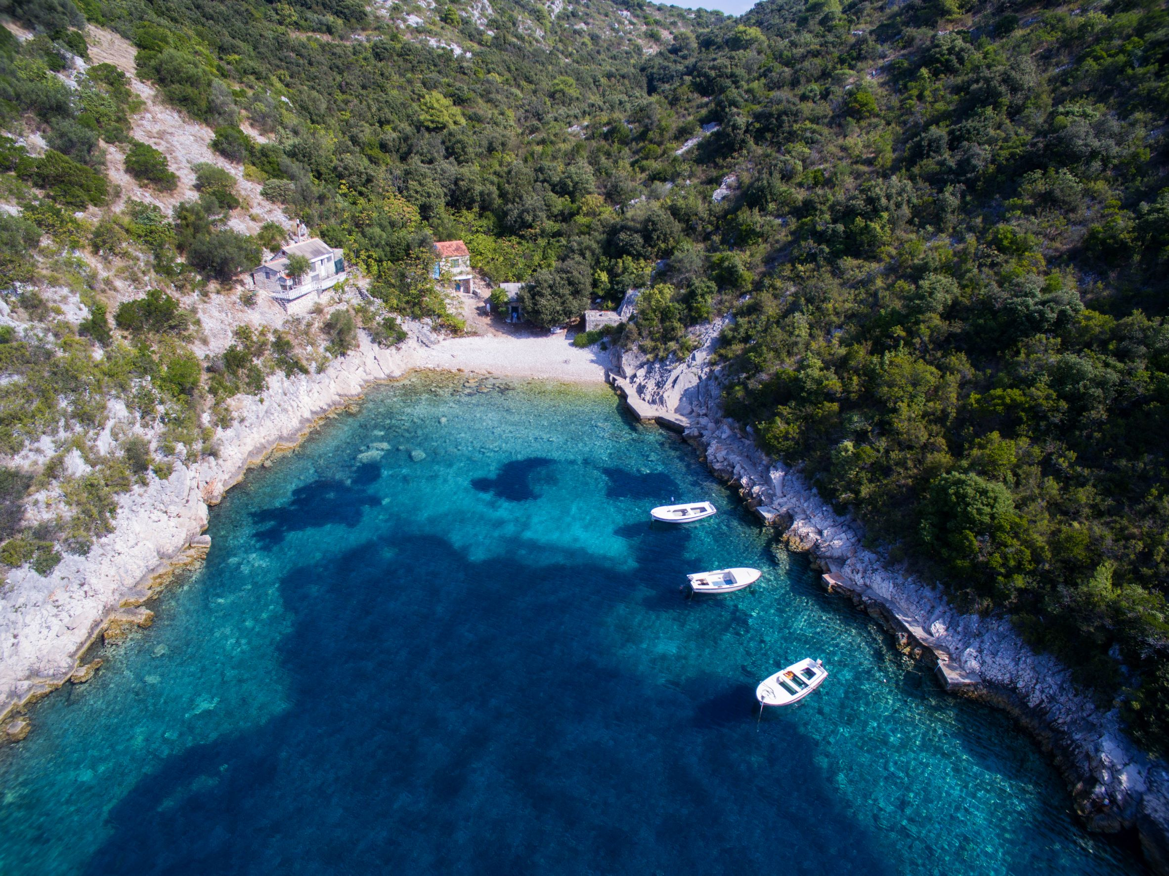 Senjska bay Solta Island