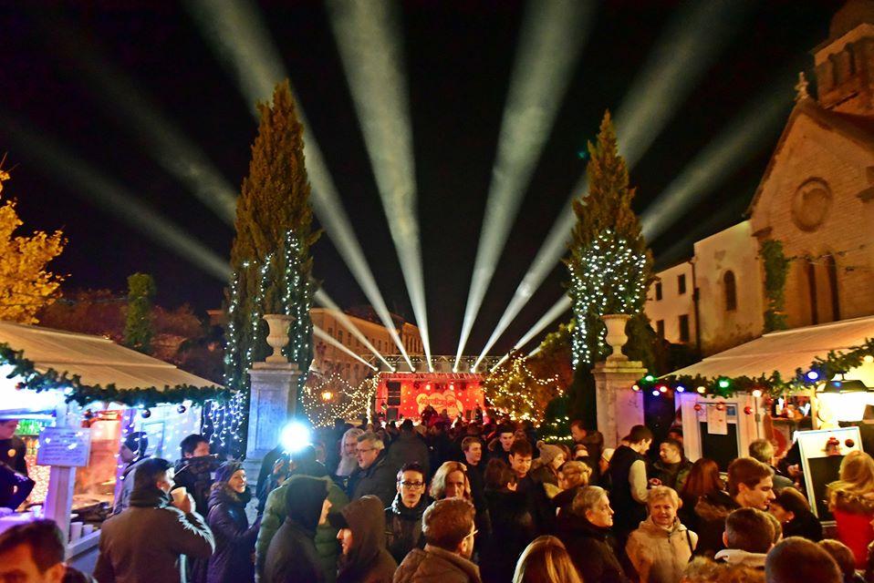 Advent festival in Sibenik