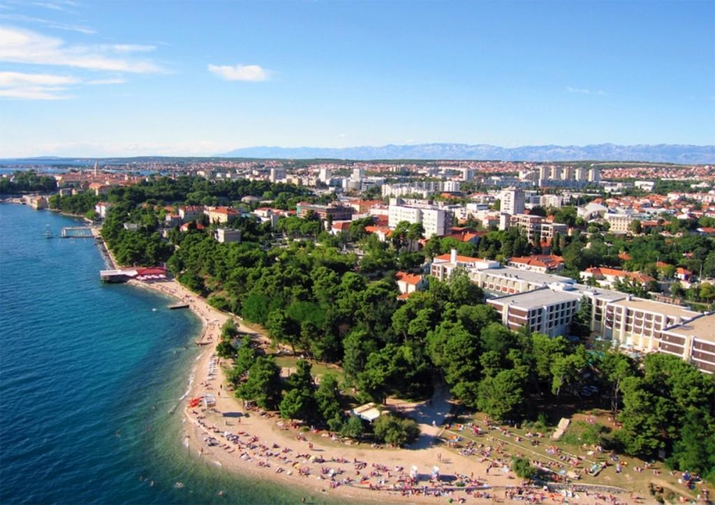 Strand Kolovare in Zadar