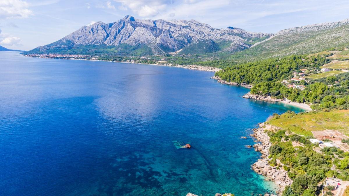 Coast of Peljesac