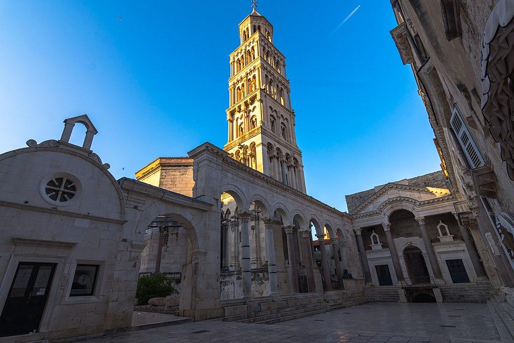 Cathedral of St. Domnius in Split Croatia