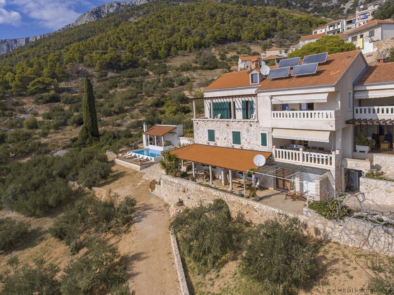 Villa Santa Domenica with Swimming Pool on Hvar