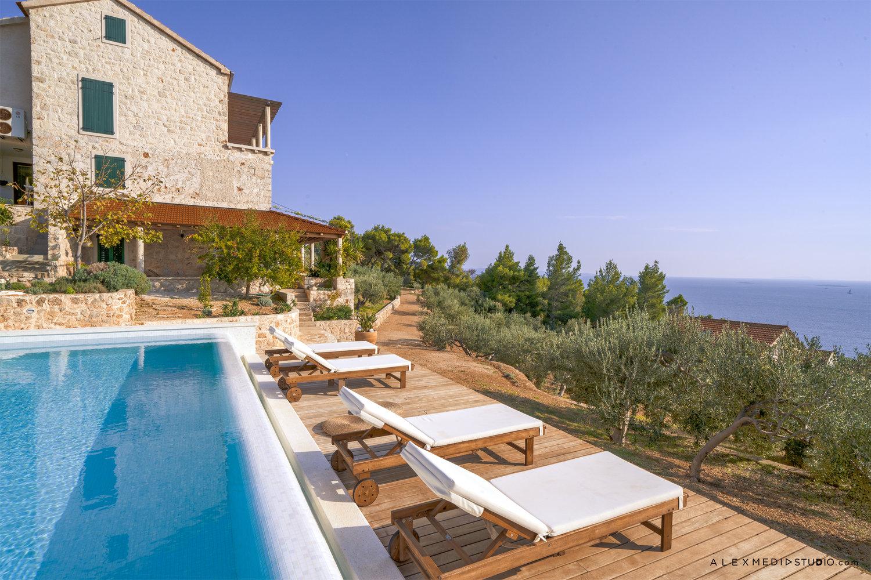 Pool area, Villa Santa Domenica