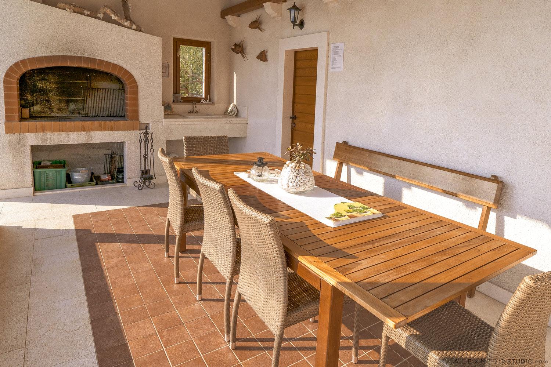 Barbecue area, Villa Santa Domenica