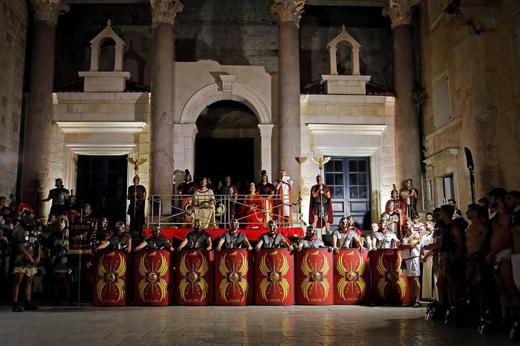 Days of Diocletian in Split Croatia