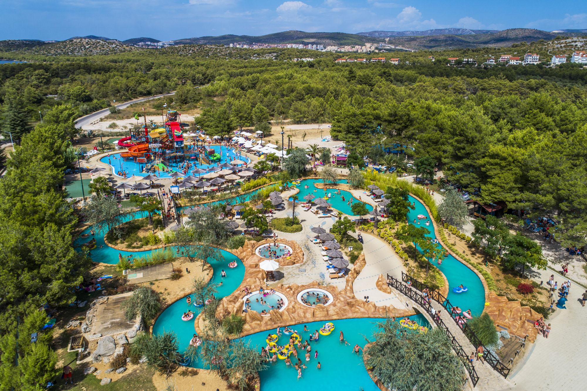 Aquapark Dalmatia ved Amadria Park nær Sibenik