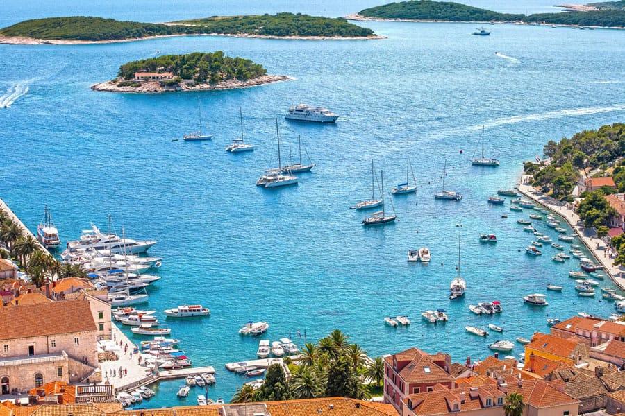 Pakleni otoci and Hvar