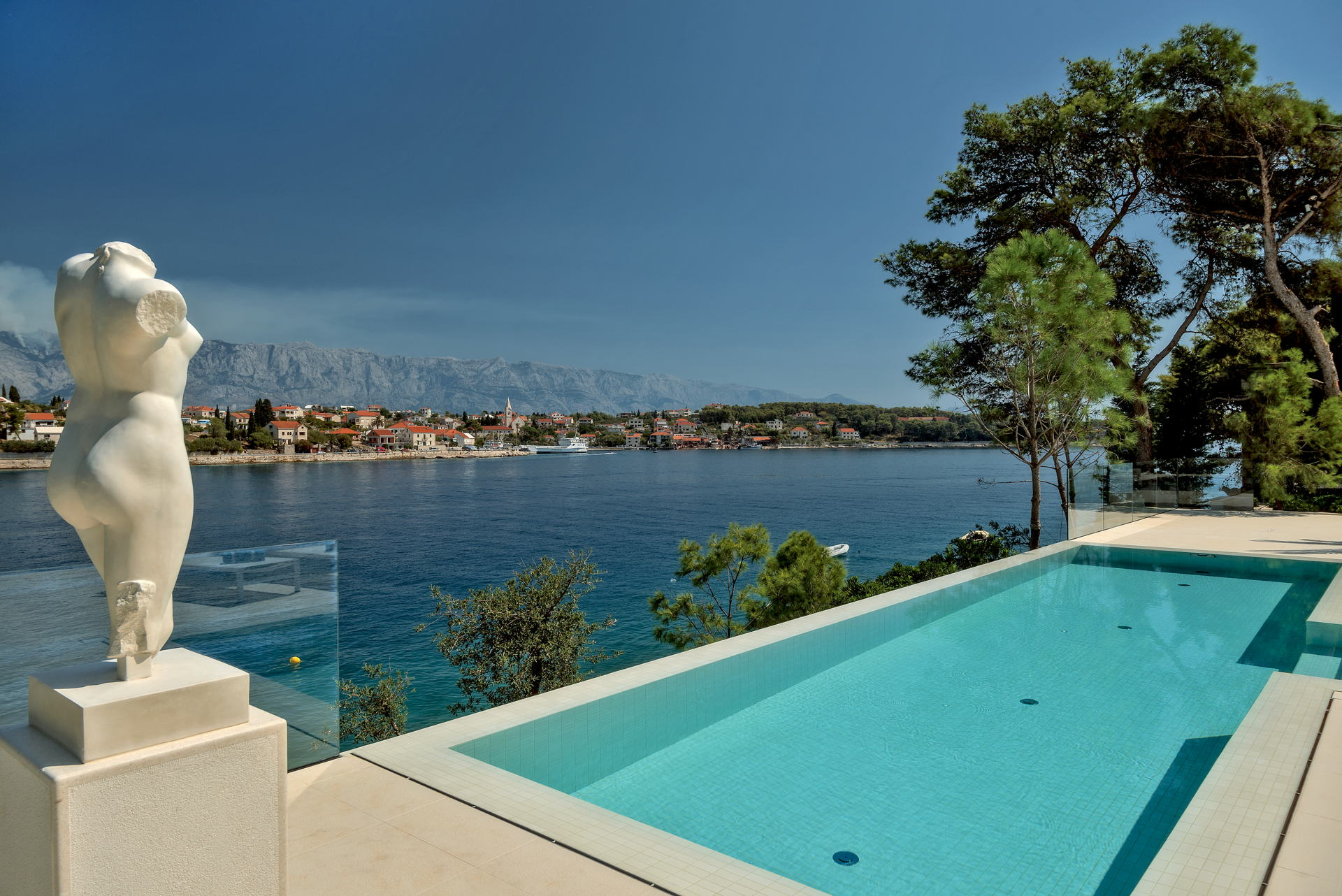 Infinity Pool from the Villa Seven Sins