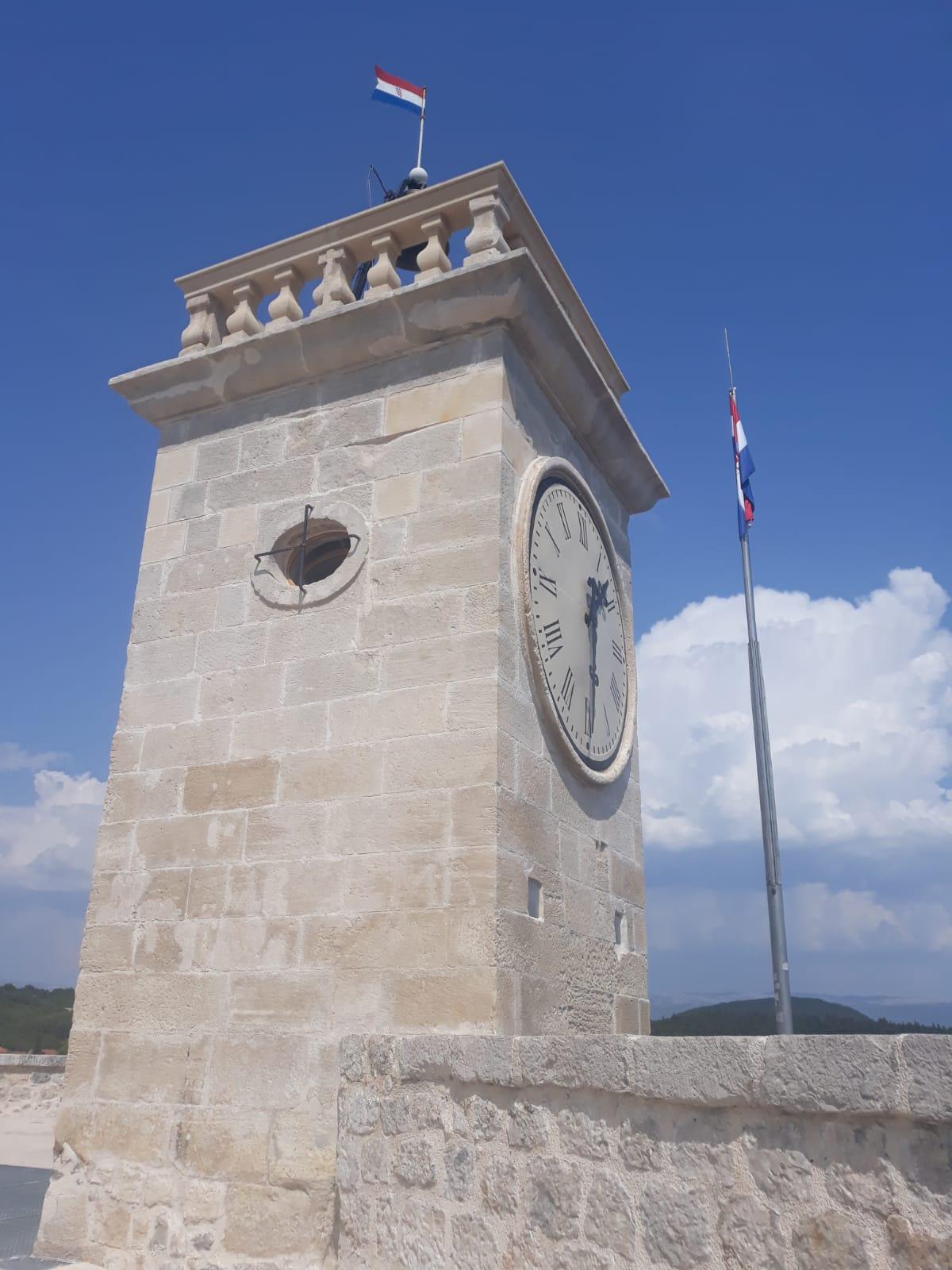 Kamicak Fort in Sinj, Croatia