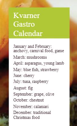 Kvarner Gourmet Kalendar