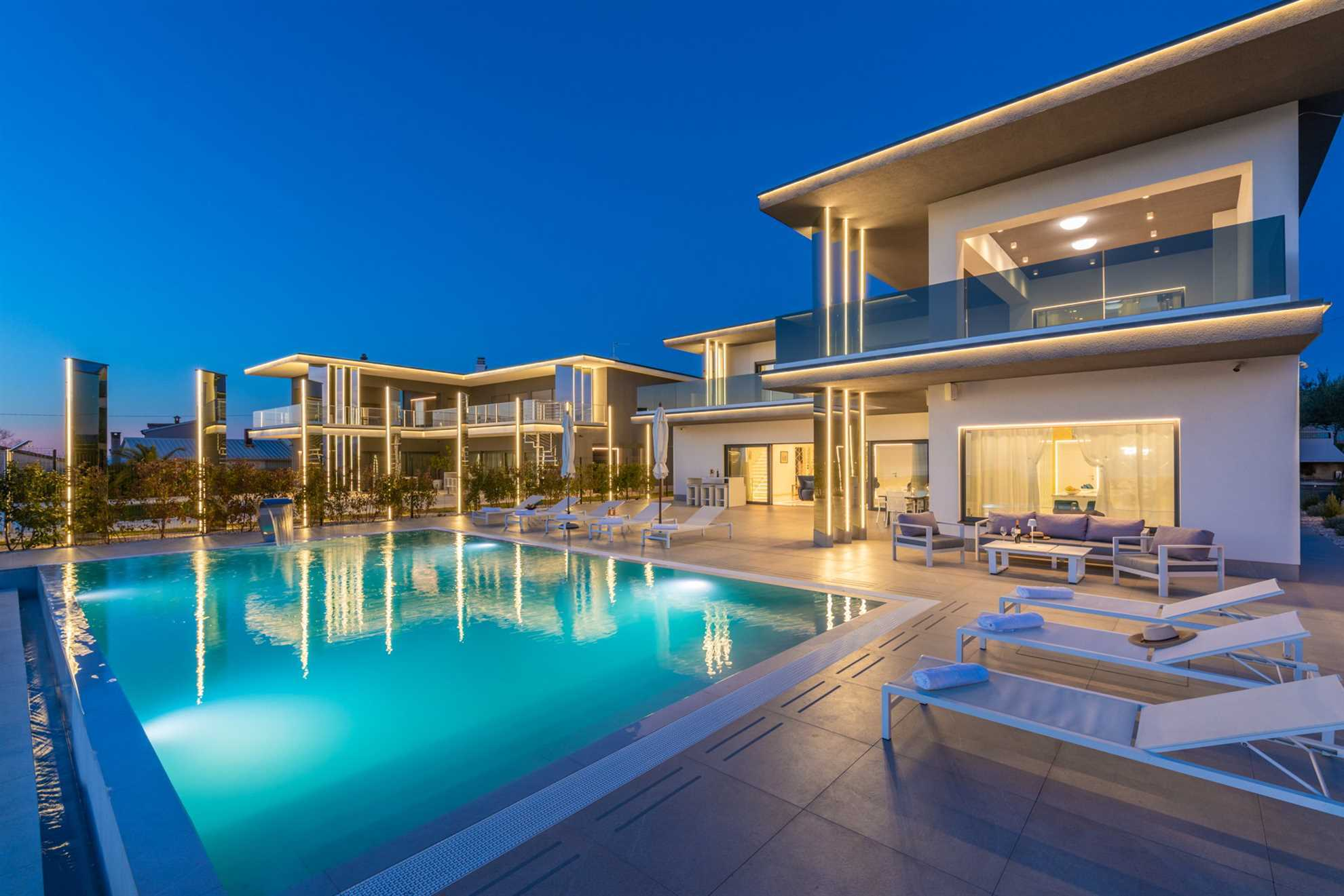 Luxury Villa Aurum with pool for rent in Istria, Croatia