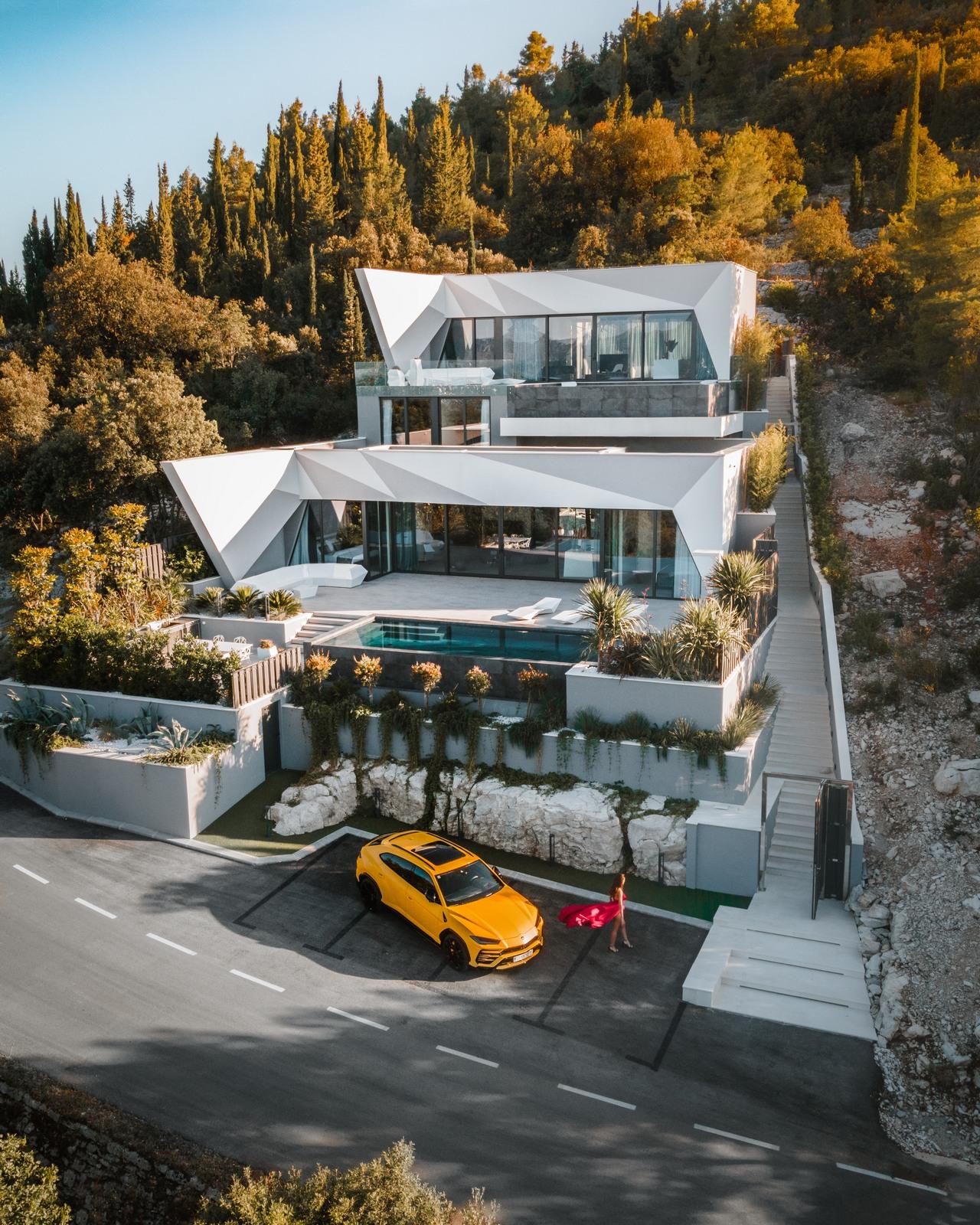 Luxury Villa Korcula Diamond with 2 infinty pool - the most exclusive villa rental in Croatia