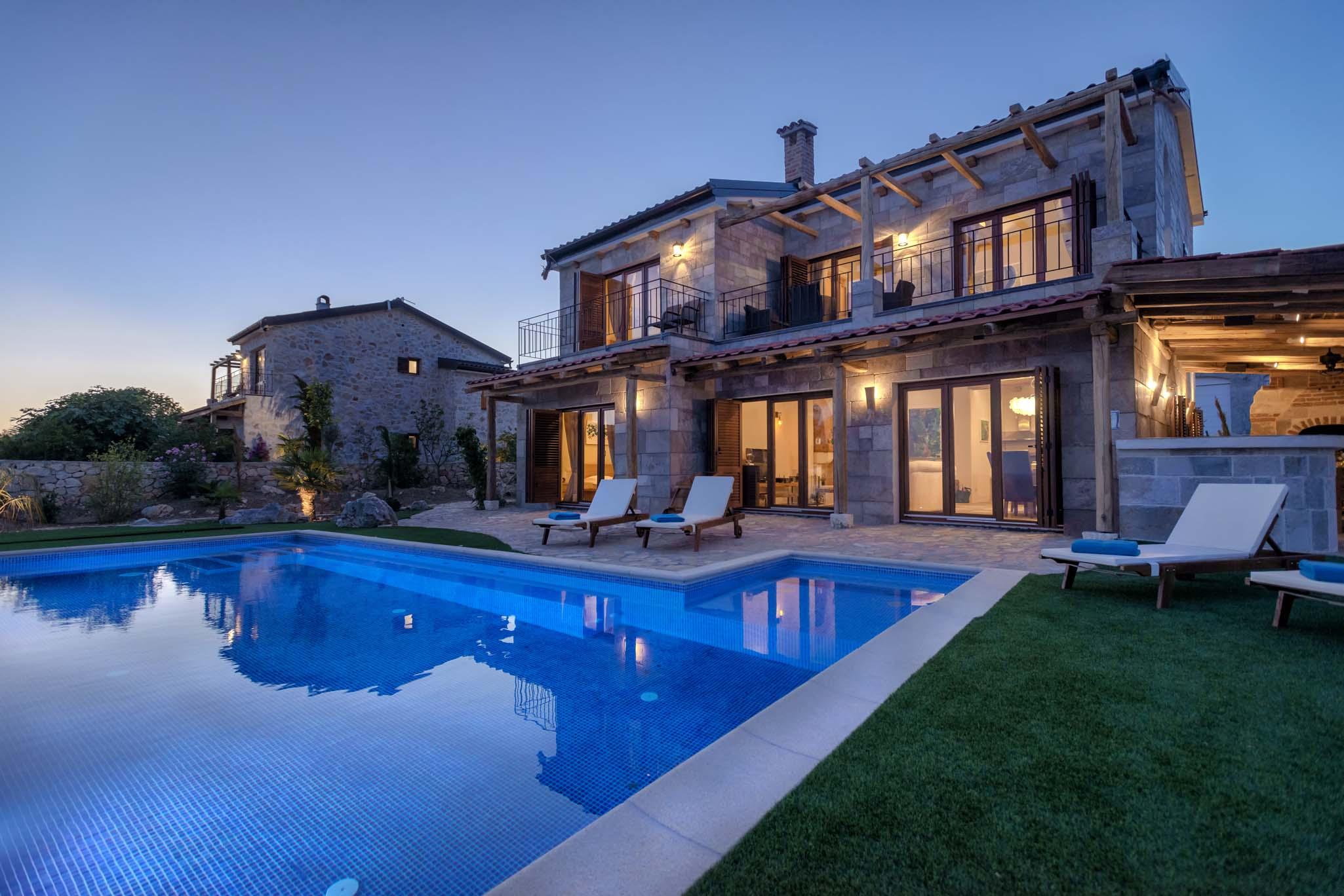 Luxury Villa Ocean Seeker with Pool on Hvar Island