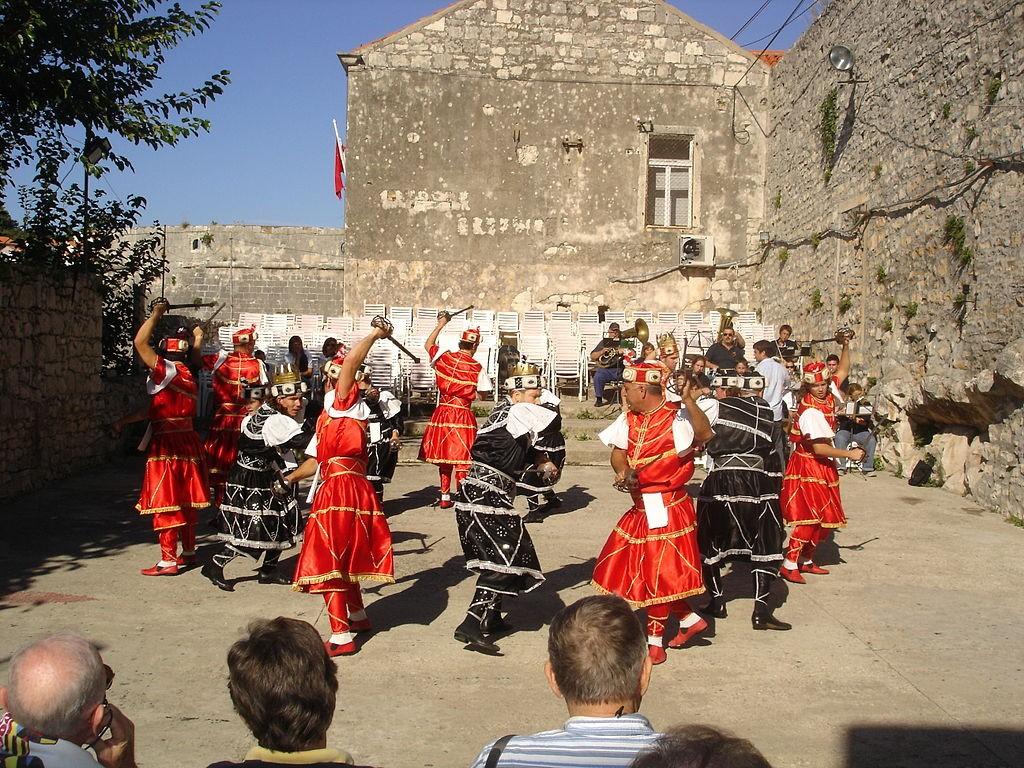Moreska Dance on Korcula