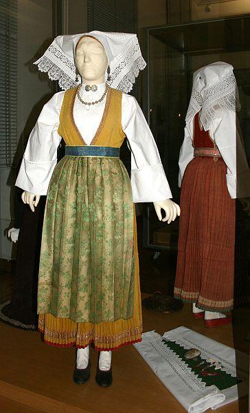 Folk costume on island Pag