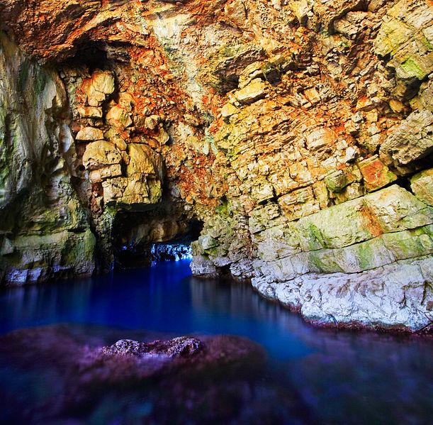 Odisejeva špilja na otoku Mljetu
