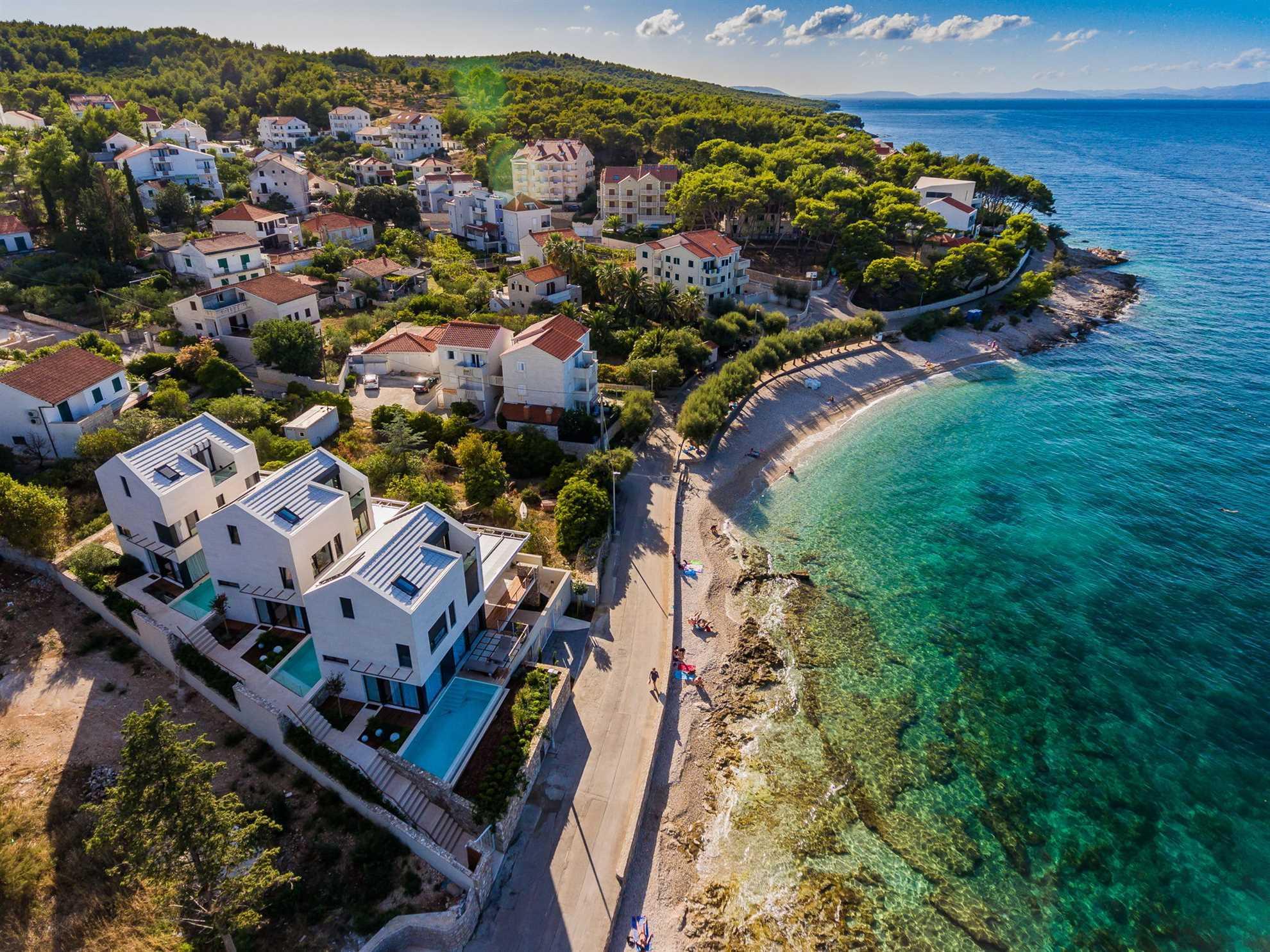 Beachfront Omega villas complex Brac