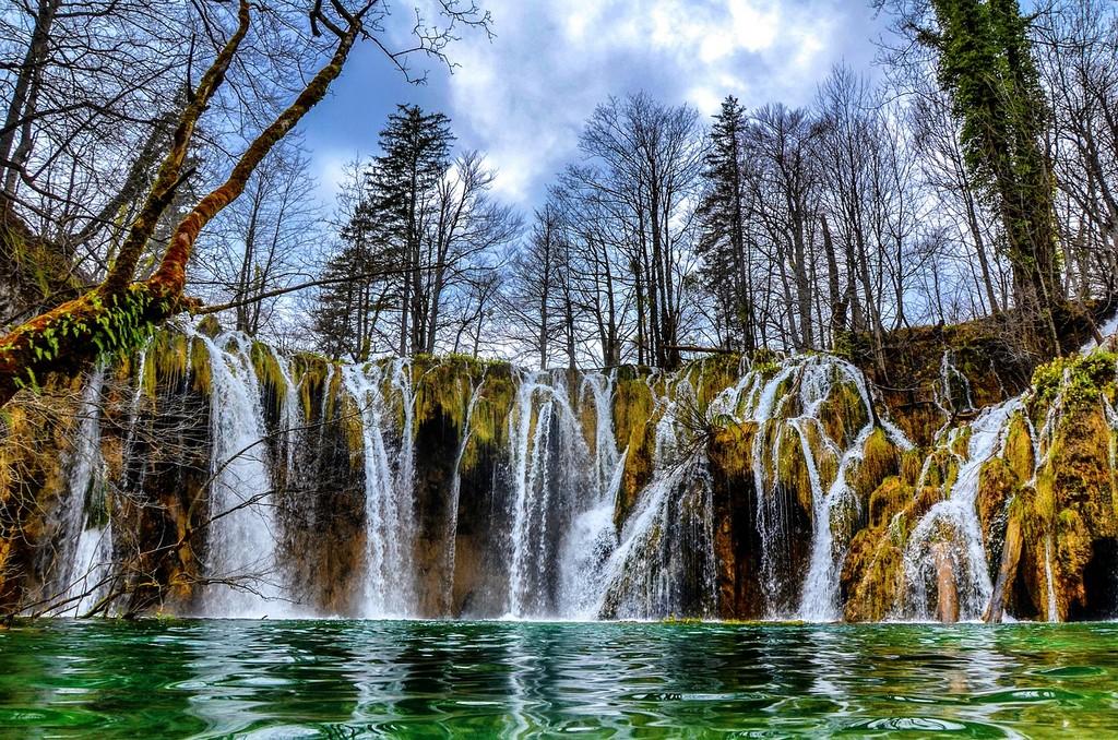 Plitvice Lakes Croatia in Autumn