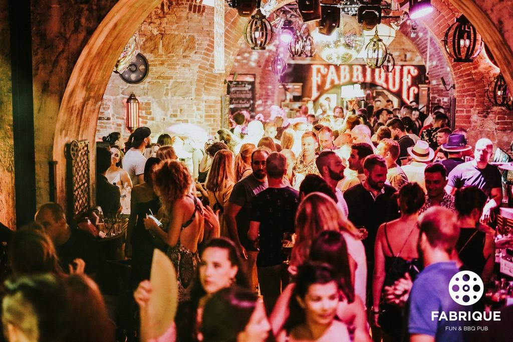 Pub Fabrique in Split Croatia