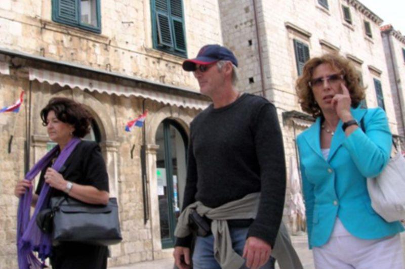 Richard Gere in Dubrovnik