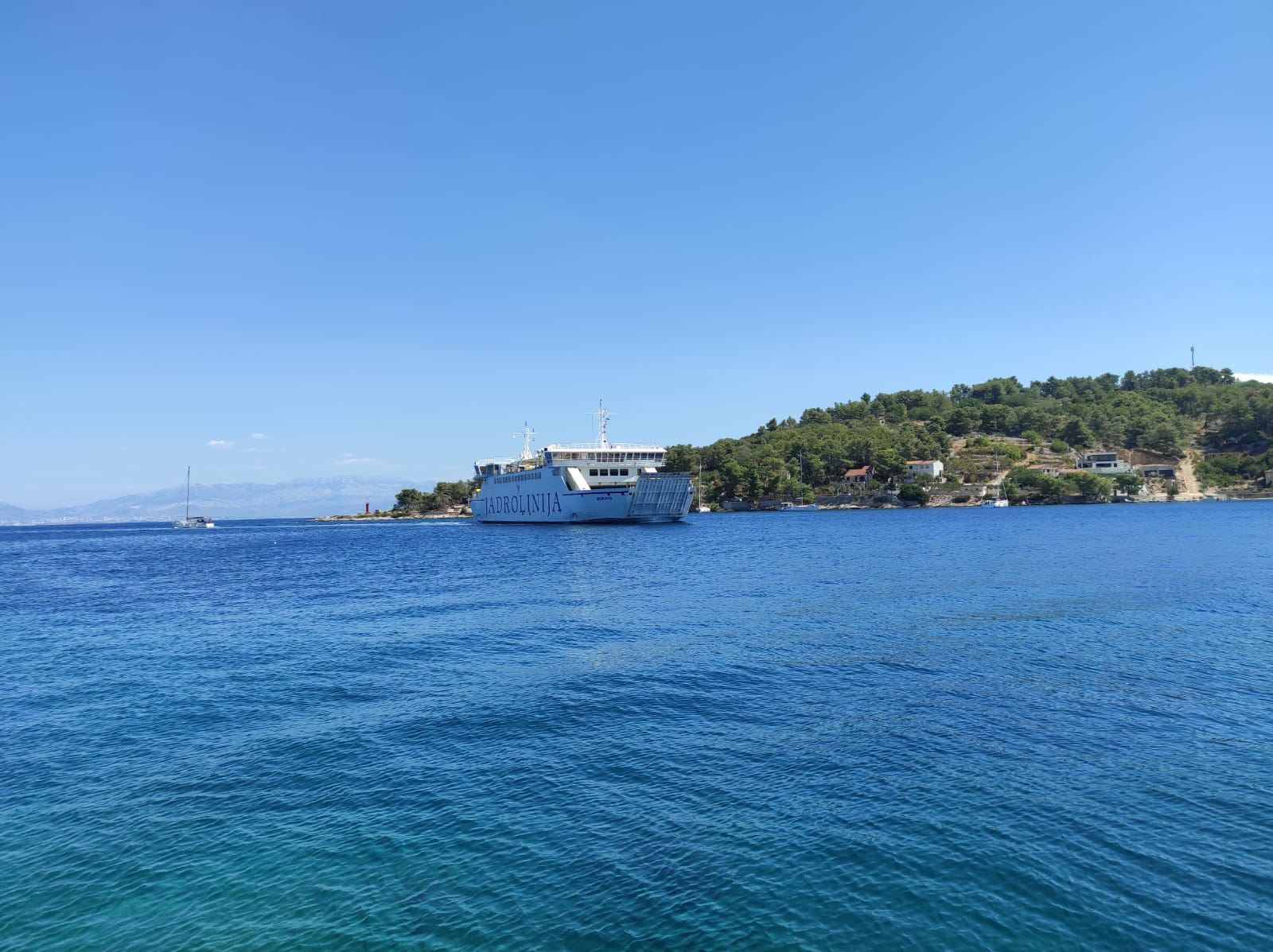 Rogac Ferry port Solta