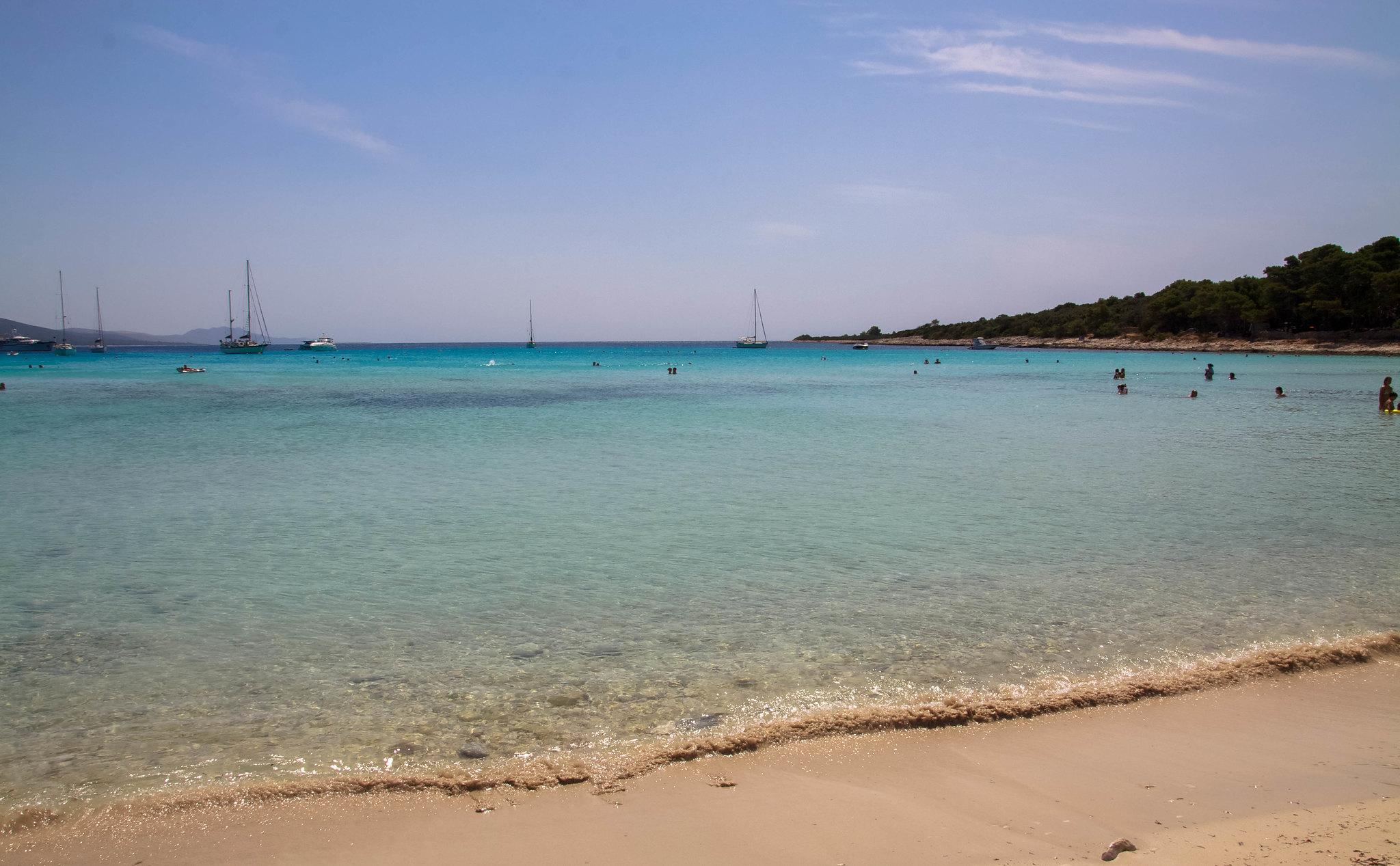 Sakarun beach Dugi otok Island