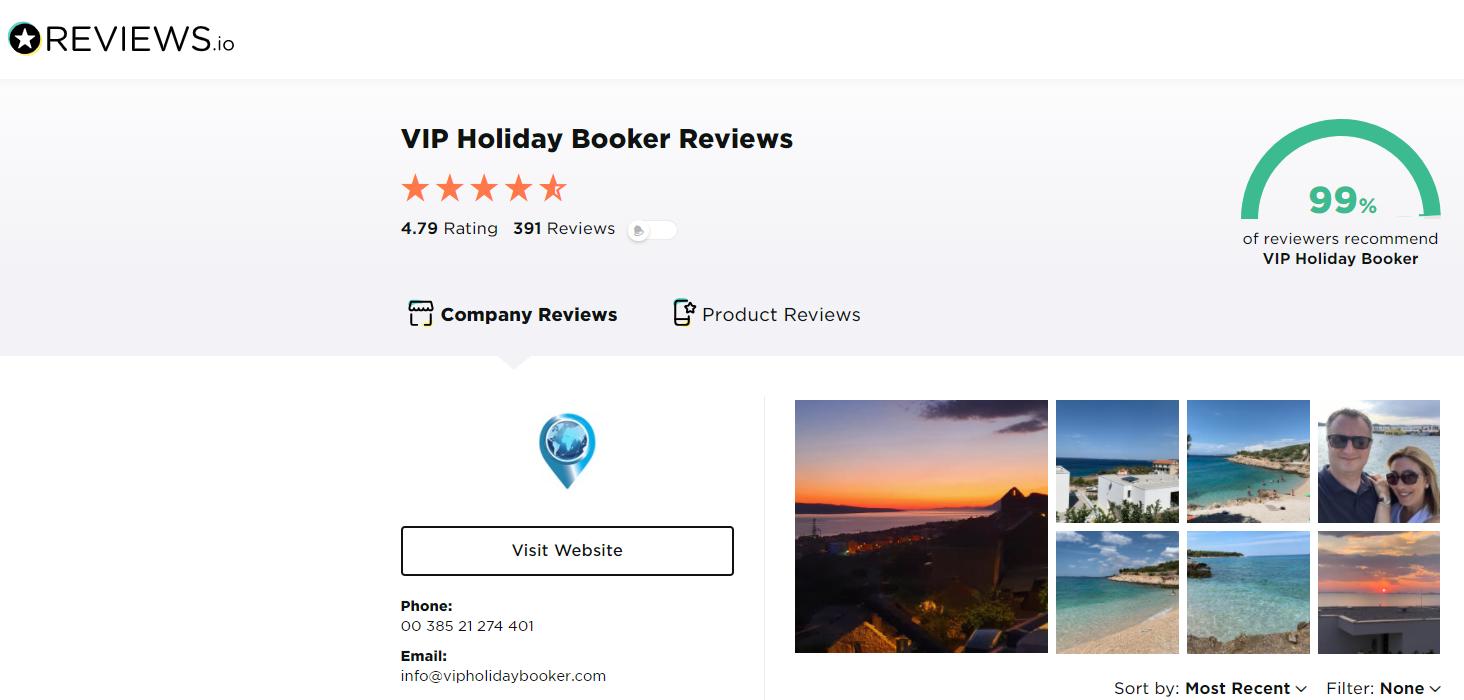 Profil unseres Unternehmens auf Reviews.io