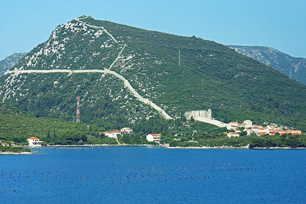 Ston Walls near Dubrovnik