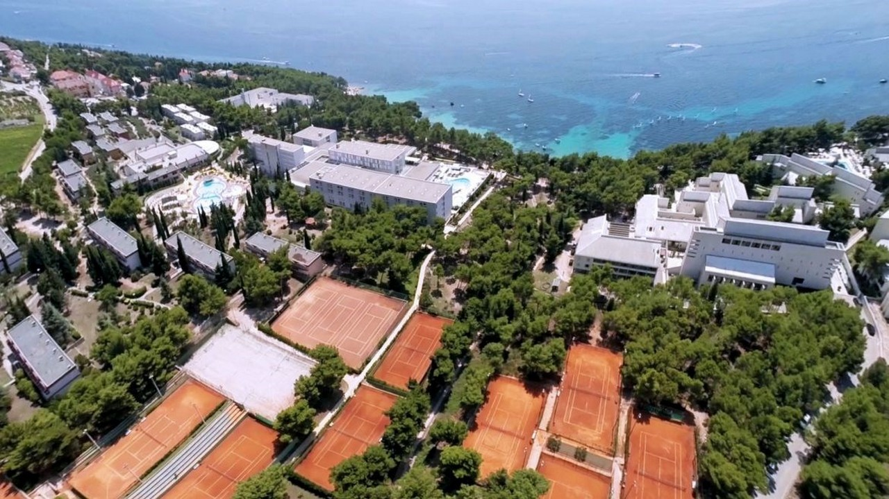 Tennis Courts in Bol Croatia