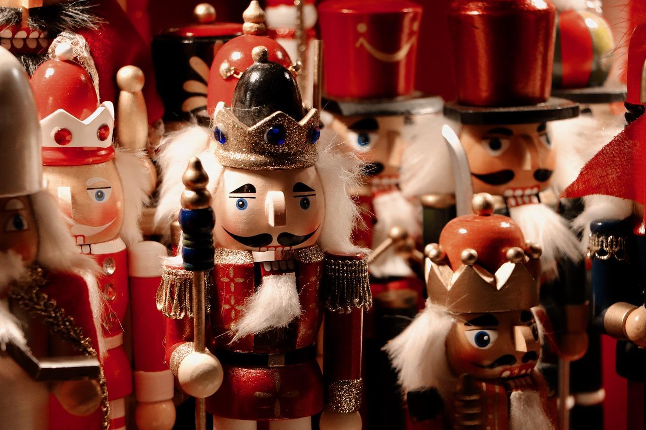 The Christmas decoration The Nutcracker