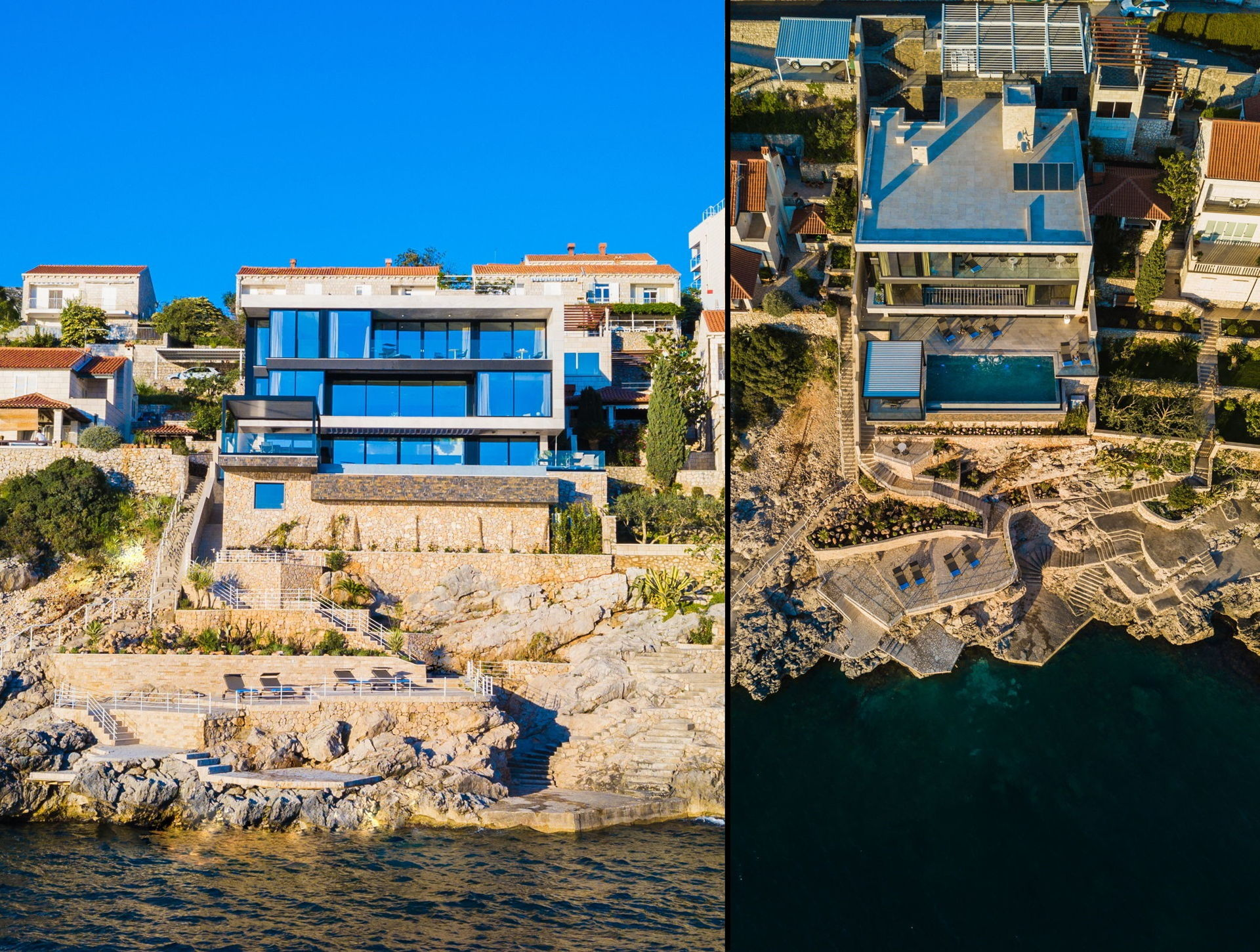 Ultraluxury Villa Grand Oceania with Infinity Pool in Dubrovnik area