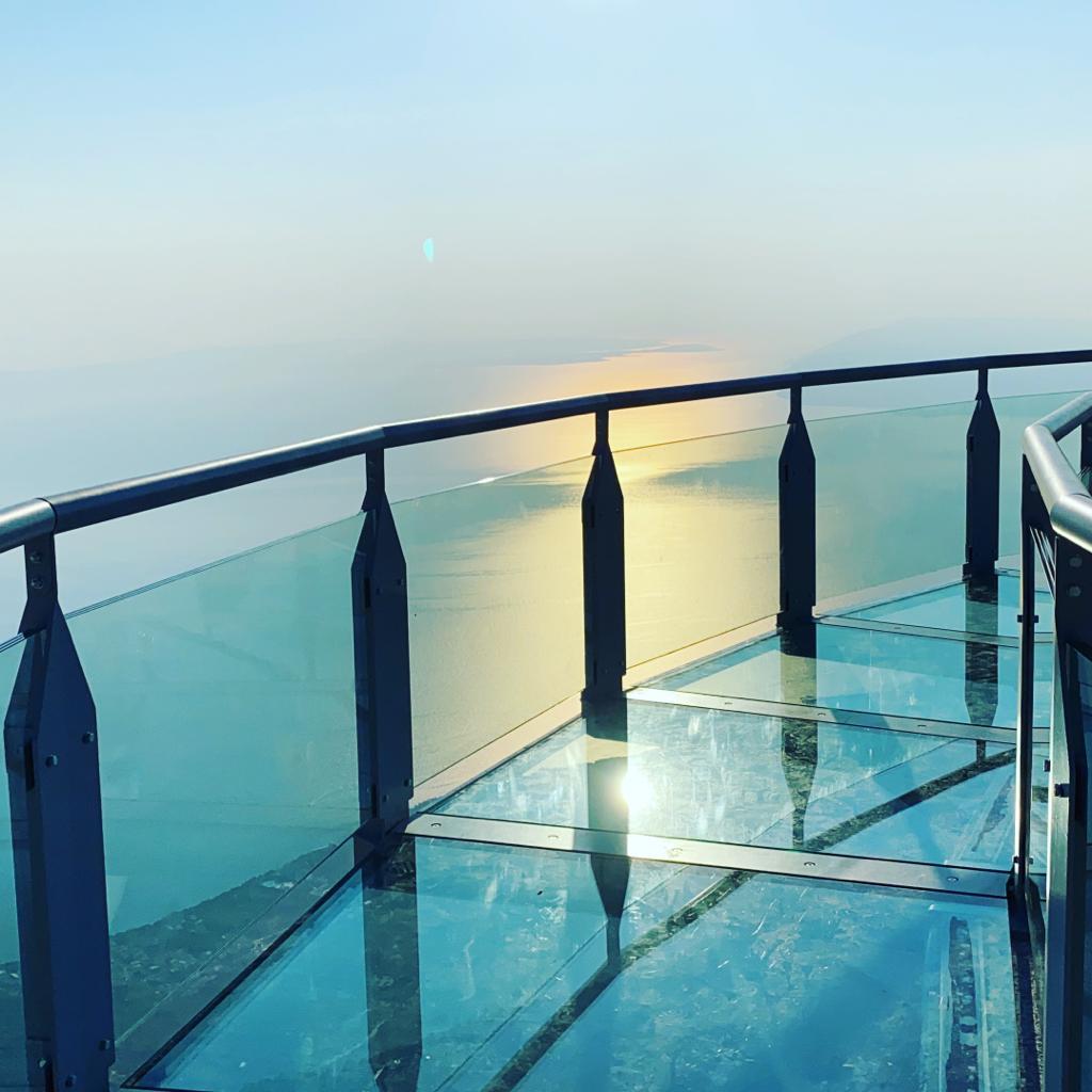 breathtaking view from the Skywalk Biokovo