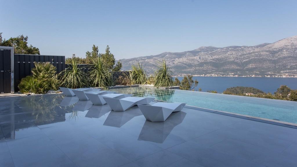 View from Villa Korcula Diamond