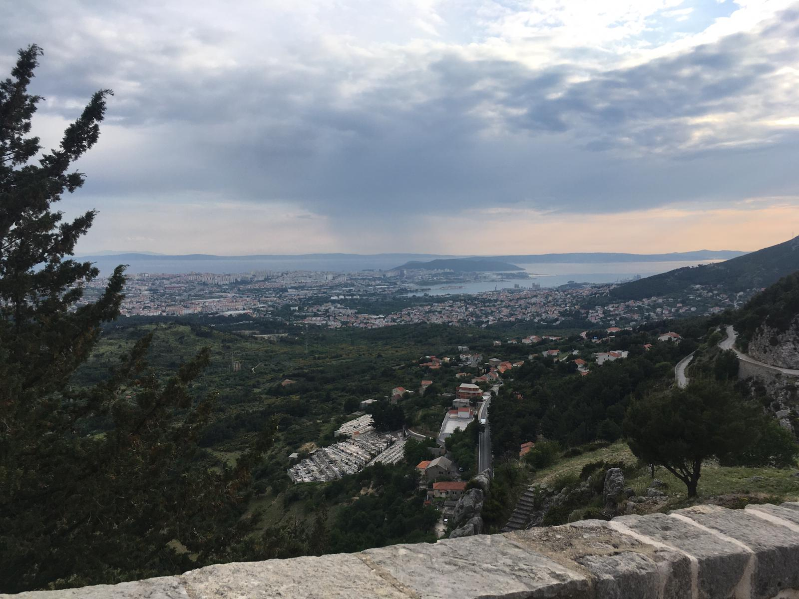 View from the Klis Fortress