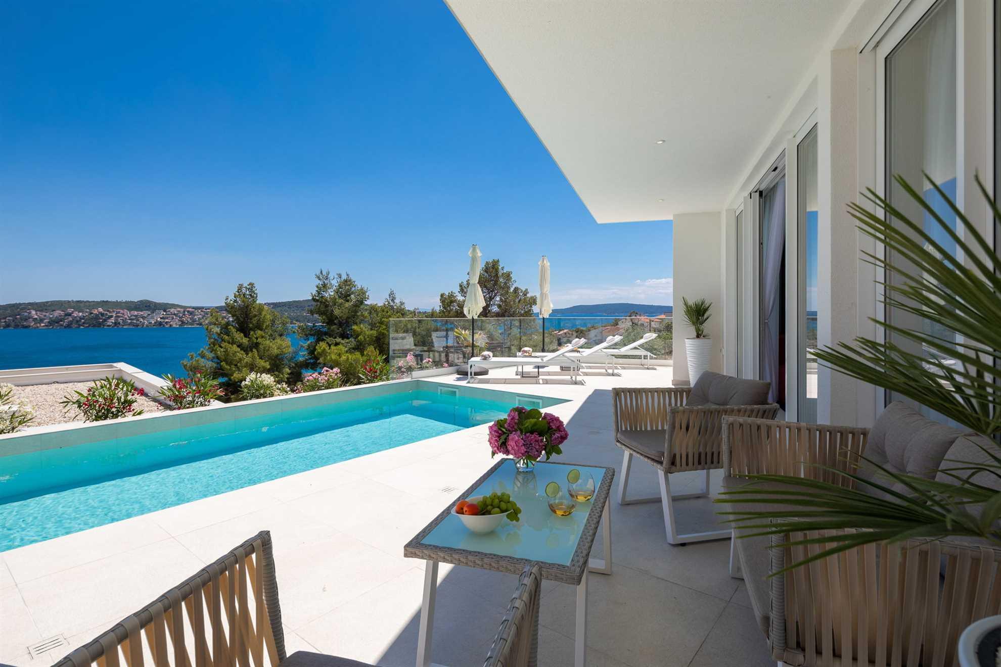 Lounge Villa Adria View Trogir