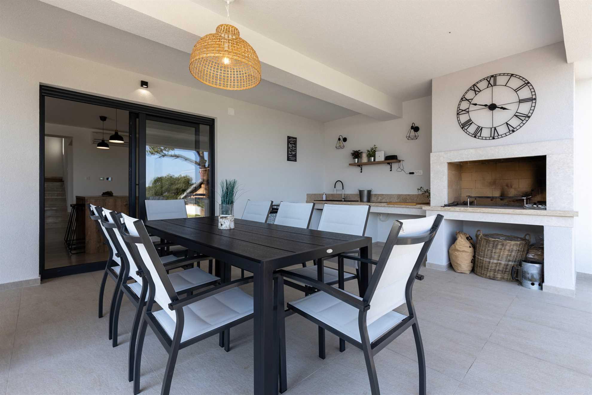 Summer Kitchen Villa Aria Dorata
