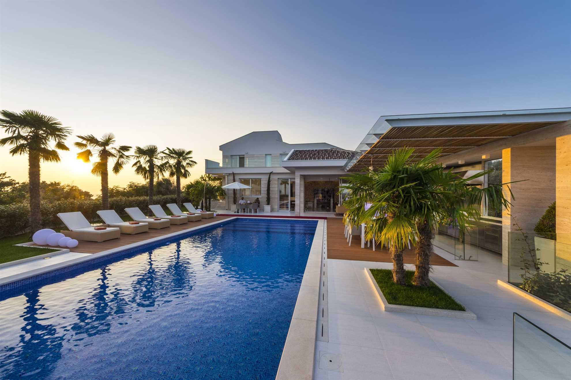 Villa Beyond on Pag island
