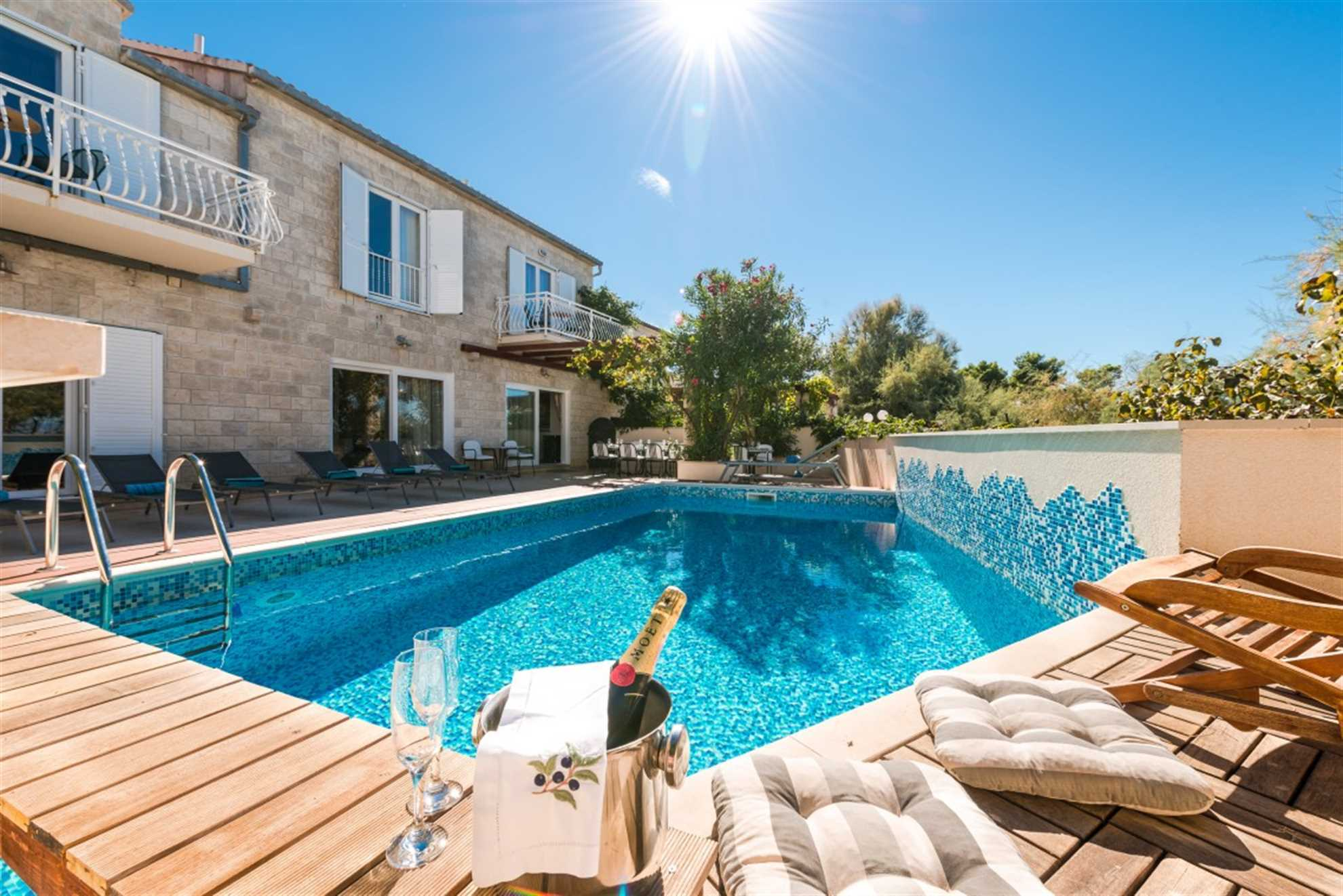 Villa Blue Ocean Brac Pool