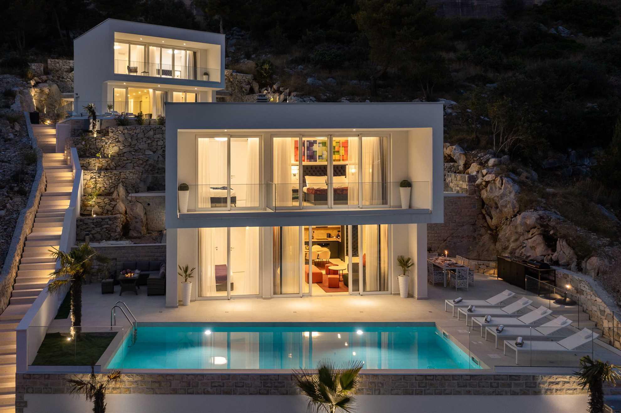 Neighbouring villas Adria View Trogir