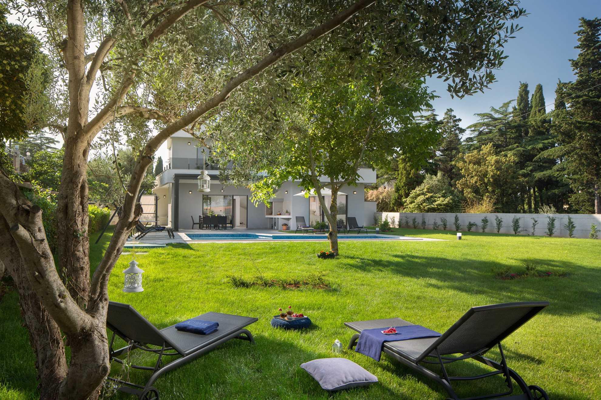 Villa Costanea Medulin Garden