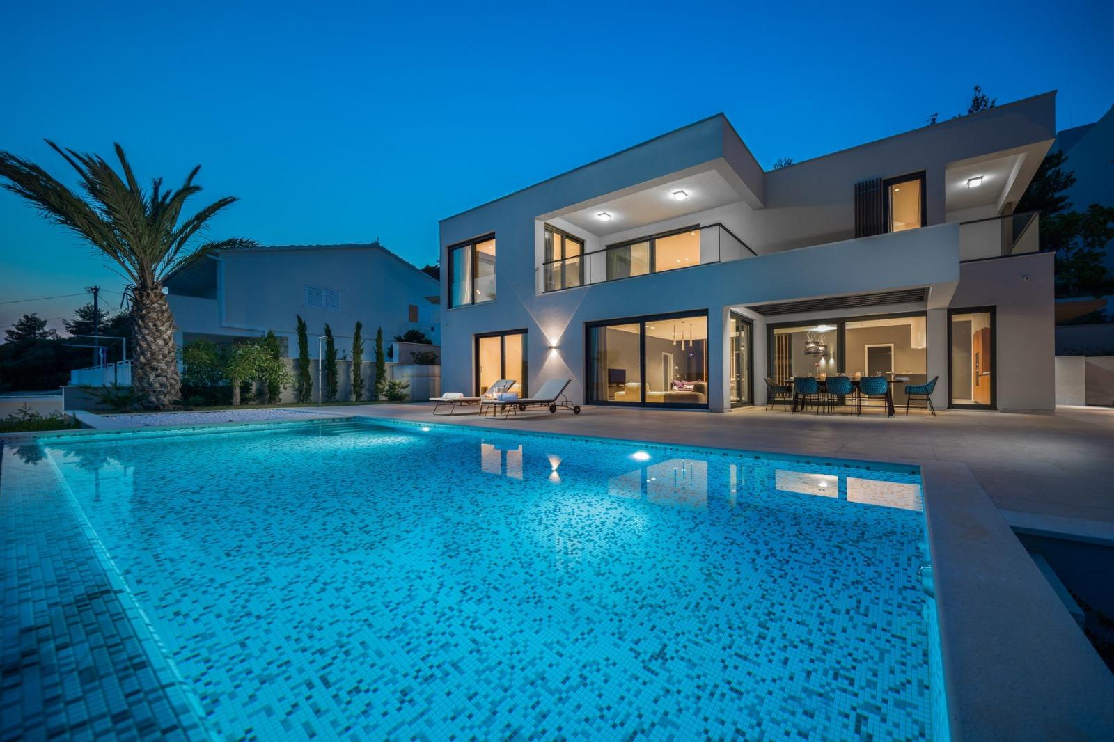Ultraluxury Villa Elyzeum in Trogir