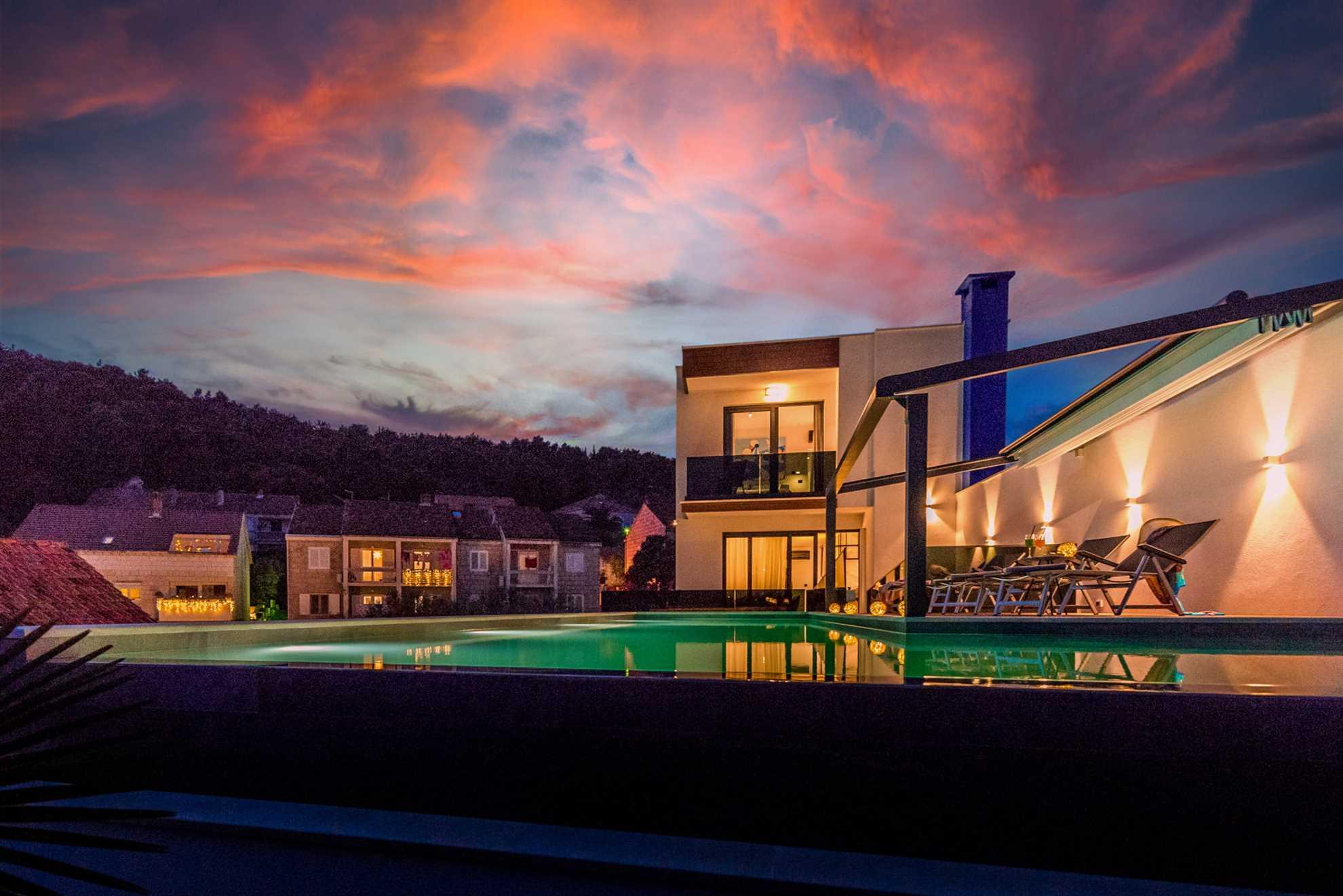 Villa Emotha with pool