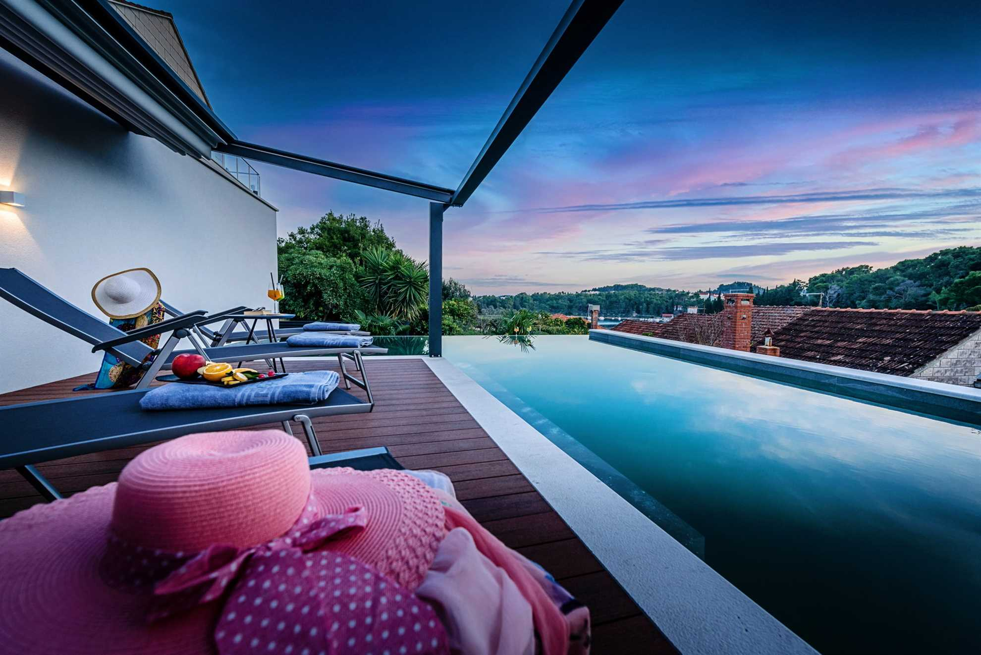 Pool Villa Emotha Korcula